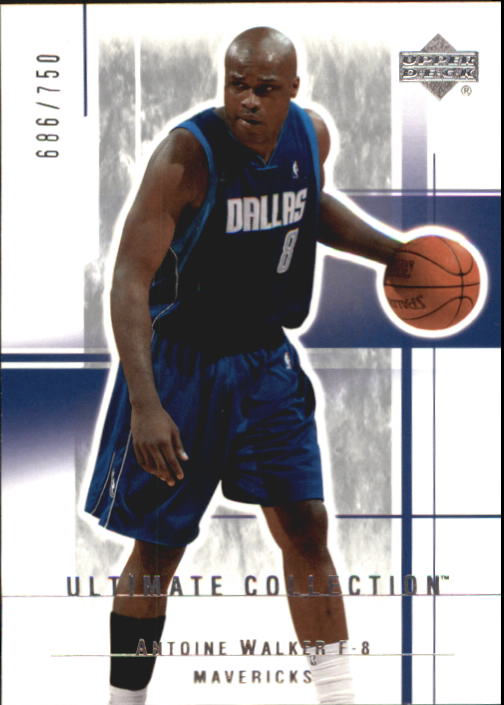 2003-04 Ultimate Collection #19 Antoine Walker
