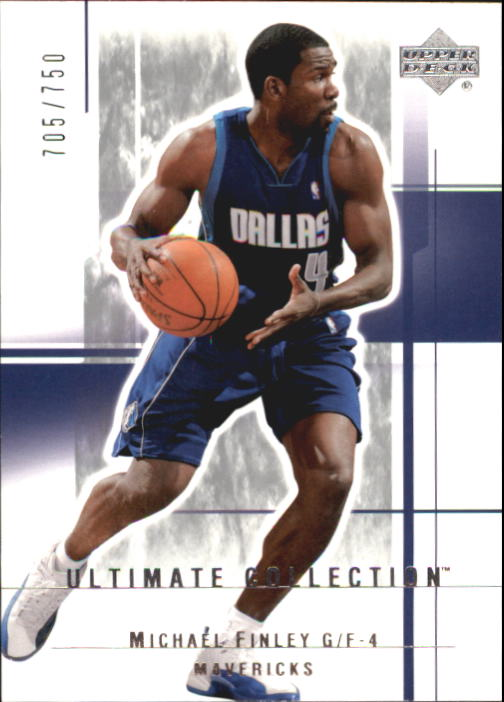 2003-04 Ultimate Collection #20 Michael Finley
