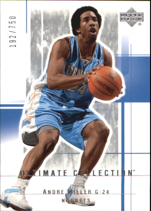 2003-04 Ultimate Collection #21 Andre Miller