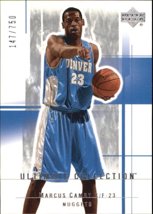 2003-04 Ultimate Collection #24 Marcus Camby