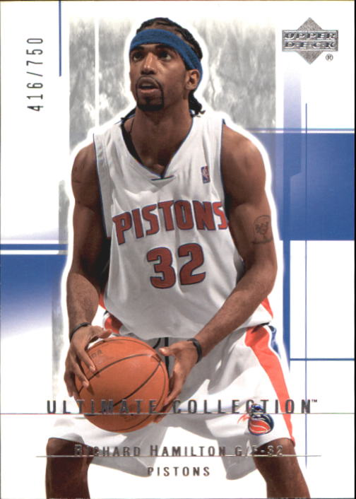 2003-04 Ultimate Collection #25 Richard Hamilton