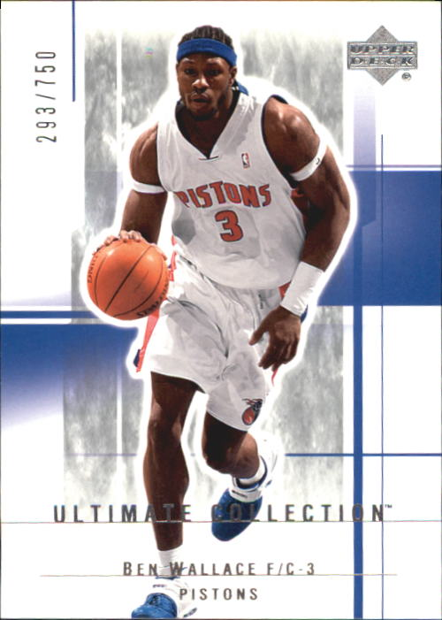 2003-04 Ultimate Collection #26 Ben Wallace