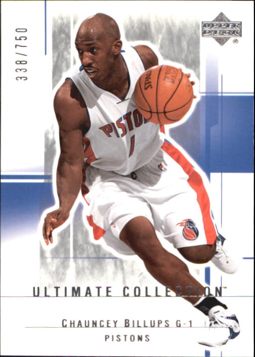 2003-04 Ultimate Collection #27 Chauncey Billups