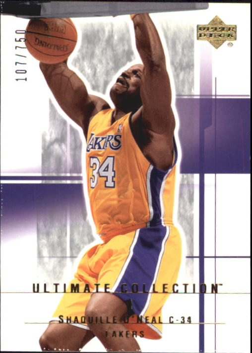 2003-04 Ultimate Collection #46 Shaquille O'Neal