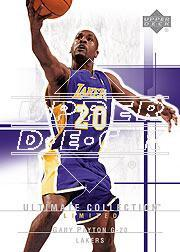 2003-04 Ultimate Collection #47 Gary Payton
