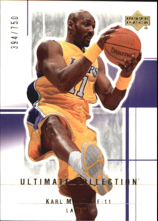 2003-04 Ultimate Collection #48 Karl Malone