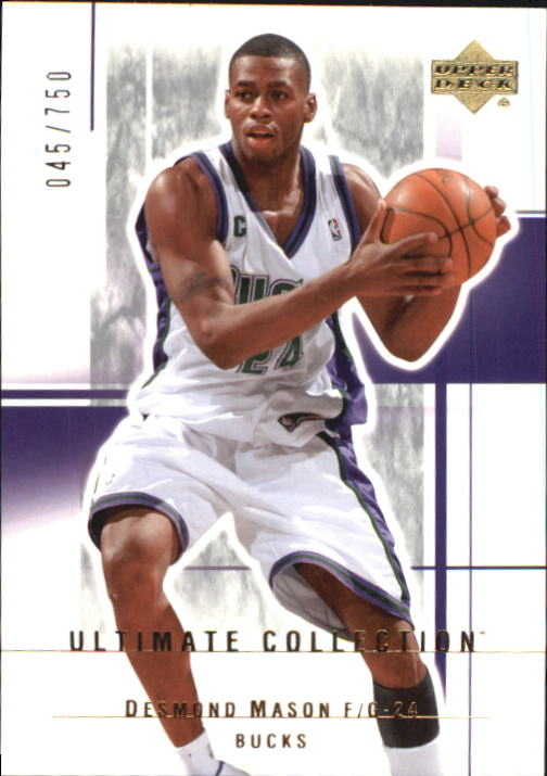 2003-04 Ultimate Collection #57 Desmond Mason