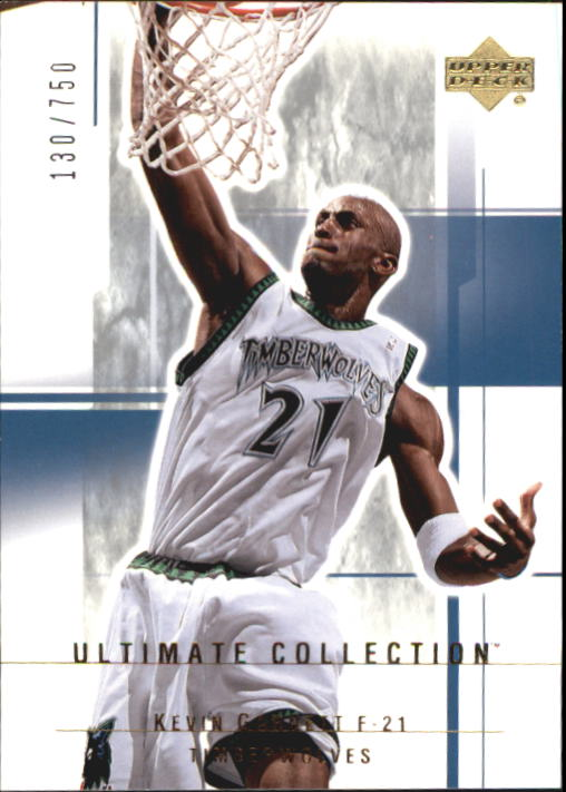 2003-04 Ultimate Collection #62 Kevin Garnett