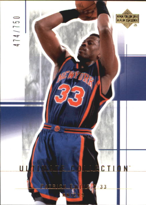 2003-04 Ultimate Collection #74 Patrick Ewing