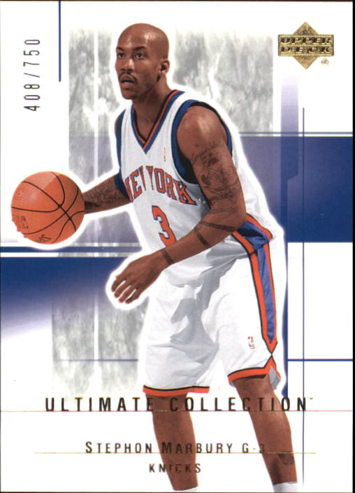 2003-04 Ultimate Collection #75 Stephon Marbury