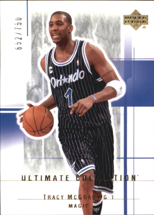 2003-04 Ultimate Collection #77 Tracy McGrady