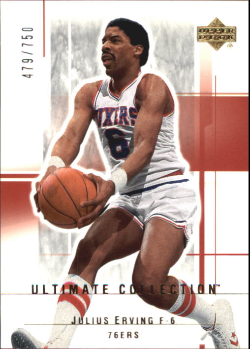 2003-04 Ultimate Collection #81 Julius Erving