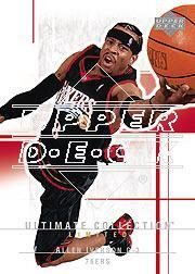2003-04 Ultimate Collection #82 Allen Iverson