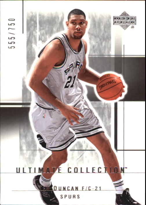 2003-04 Ultimate Collection #98 Tim Duncan