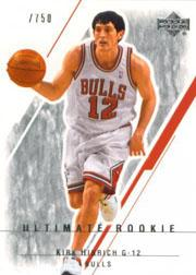 2003-04 Ultimate Collection #118 Kirk Hinrich RC