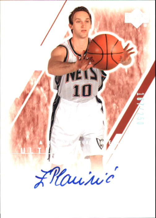 2003-04 Ultimate Collection #145 Zoran Planinic AU RC