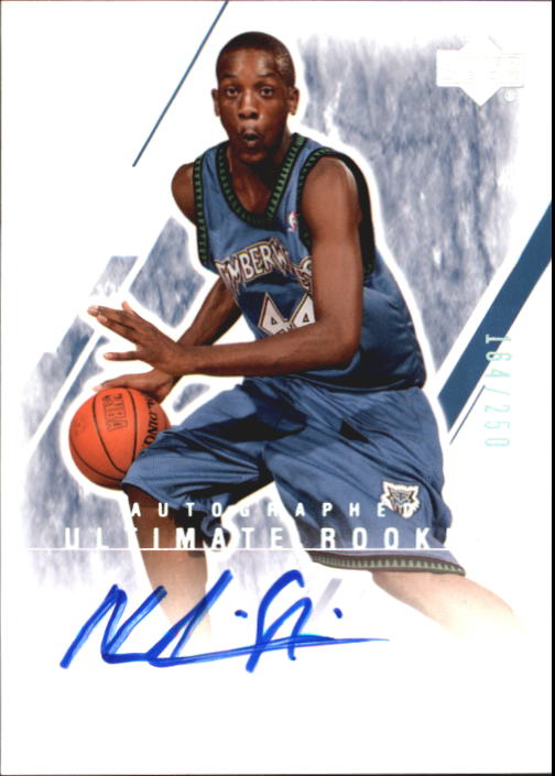 2003-04 Ultimate Collection #149 Ndudi Ebi AU RC