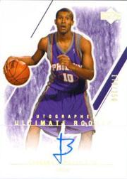 2003-04 Ultimate Collection #151 Leandro Barbosa AU RC