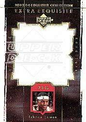 2003-04 Exquisite Collection Extra Exquisite #LJ1 LeBron James