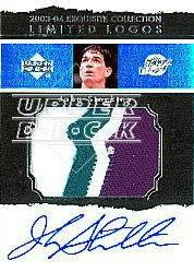 2003-04 Exquisite Collection Limited Logos #JM John Stockton
