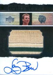 2003-04 Exquisite Collection Limited Logos #LB Larry Bird