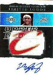 2003-04 Exquisite Collection Limited Logos #LJ LeBron James