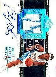 2003-04 Exquisite Collection Noble Nameplates #CA Carmelo Anthony