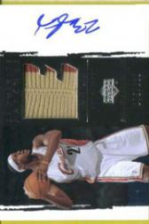 2003-04 Exquisite Collection Patches Autographs #LJ LeBron James