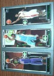 2003-04 Topps Rookie Matrix #BAJ Chris Bosh 114 RC/Carmelo Anthony 113 RC/LeBron James 111 RC