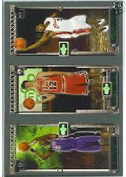 2003-04 Topps Rookie Matrix #BHJ Chris Bosh 114 RC/Kirk Hinrich 117 RC/LeBron James 111 RC