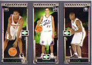 2003-04 Topps Rookie Matrix #DPW Boris Diaw 131 RC/Aleksandar Pavlovic 129 RC/David West 128 RC