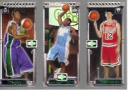 2003-04 Topps Rookie Matrix #FAH T.J. Ford 118 RC/Carmelo Anthony 113 RC/Kirk Hinrich 117 RC