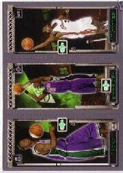 2003-04 Topps Rookie Matrix #FBJ T.J. Ford 118 RC/Chris Bosh 114 RC/LeBron James 111 RC