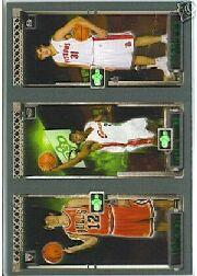 2003-04 Topps Rookie Matrix #HJM Kirk Hinrich 117 RC/LeBron James 111 RC/Darko Milicic 112 RC