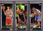2003-04 Topps Rookie Matrix #HWS Kirk Hinrich 117 RC/Dwyane Wade 115 RC/Mike Sweetney 119 RC front image