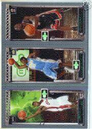 2003-04 Topps Rookie Matrix #JAW LeBron James 111 RC/Carmelo Anthony 113 RC/Dwyane Wade 115 RC
