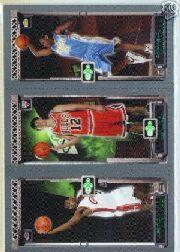 2003-04 Topps Rookie Matrix #JHA LeBron James 111 RC/Kirk Hinrich 117 RC/Carmelo Anthony 113 RC