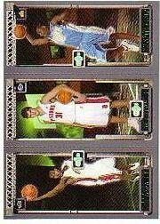 2003-04 Topps Rookie Matrix #JMA LeBron James 111 RC/Darko Milicic 112 RC/Carmelo Anthony 113 RC