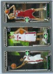 2003-04 Topps Rookie Matrix #JMK LeBron James 111 RC/Darko Milicic 112 RC/Chris Kaman 116 RC