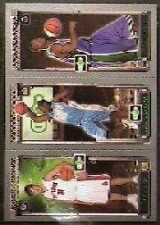 2003-04 Topps Rookie Matrix #MAF Darko Milicic 112 RC/Carmelo Anthony 113 RC/T.J. Ford 118 RC