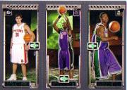 2003-04 Topps Rookie Matrix #MBF Darko Milicic 112 RC/Chris Bosh 114 RC/T.J. Ford 118 RC