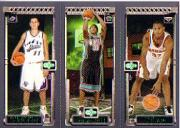 2003-04 Topps Rookie Matrix #PJD Aleksandar Pavlovic 129 RC/Dahntay Jones 130 RC/Boris Diaw 131 RC