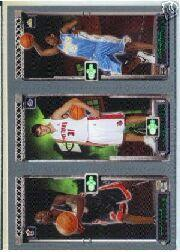 2003-04 Topps Rookie Matrix #WMA Dwyane Wade 115 RC/Darko Milicic 112 RC/Carmelo Anthony 113 RC