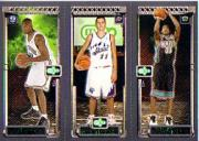 2003-04 Topps Rookie Matrix #WPJ David West 128 RC/Aleksandar Pavlovic 129 RC/Dahntay Jones 130 RC