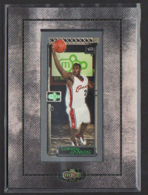 2003-04 Topps Rookie Matrix Rookie Frames #111 LeBron James