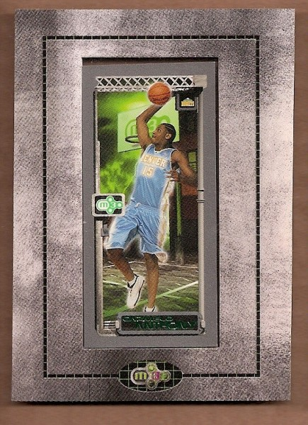 2003-04 Topps Rookie Matrix Rookie Frames #113 Carmelo Anthony