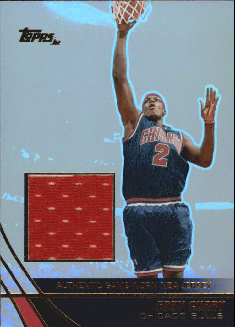 2003-04 Topps Jersey Edition #EC Eddy Curry