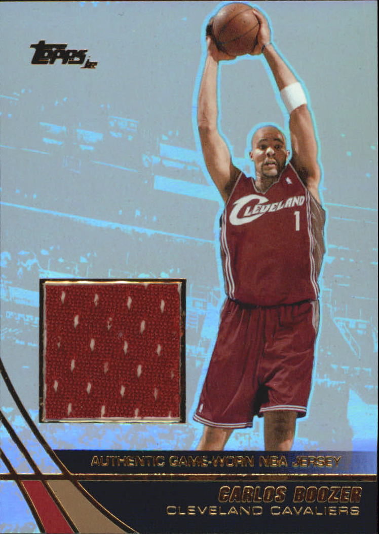 2003-04 Topps Jersey Edition #CBO Chris Bosh RC