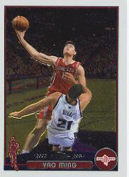 2003-04 Topps Chrome #11 Yao Ming front image