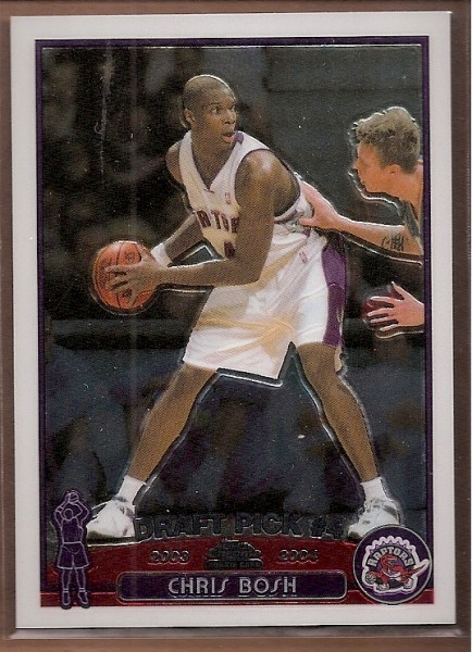 2003-04 Topps Chrome #114 Chris Bosh RC